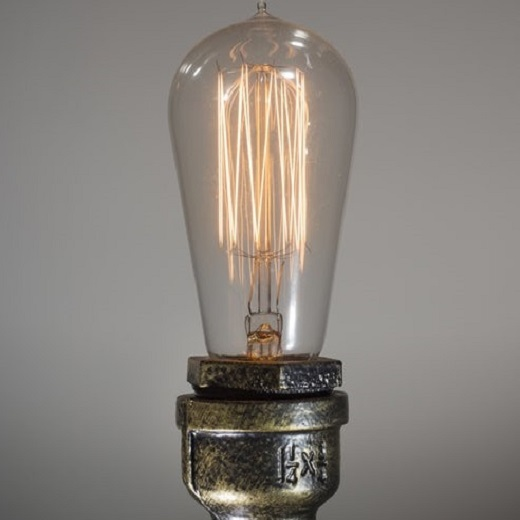 Steampunk Designed Light